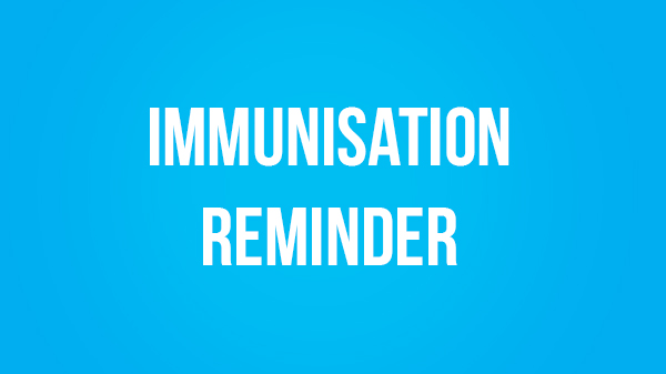 Image for Immunisation Reminder