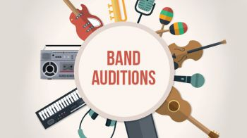 Image for Band Auditions