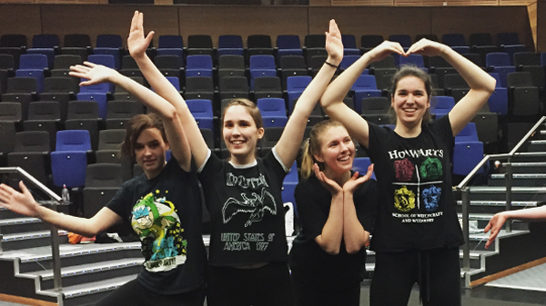 Image for Drama Students Expand their Horizons