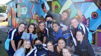 Image for Mural Art Brings Colour to School Grounds