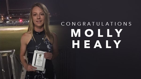 Image for Congratulations Molly Healy