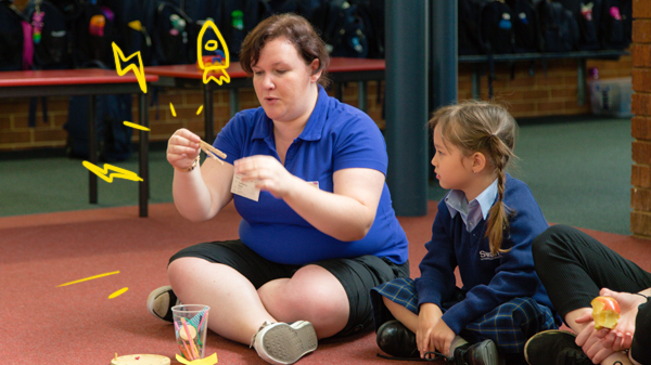 Image for Year 1 Visit from Scitech