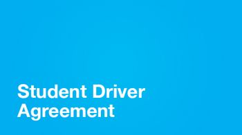 Image for Student Driver Agreement