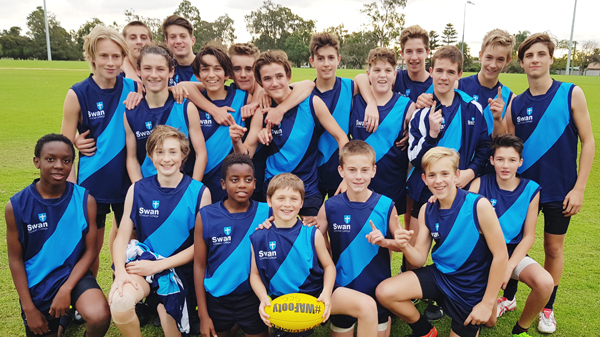 Image for Year 7-9 Boys Excel in Footy Competition