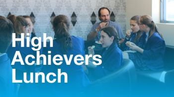 Image for High Achievers Lunch