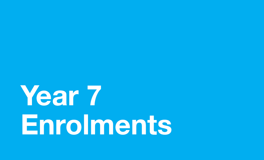 Image for Year 7 Enrolments in 2020