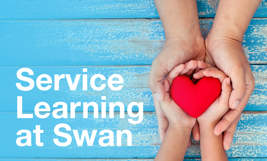 Image for Service Learning at Swan in 2018