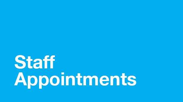 Image for Staff Appointments