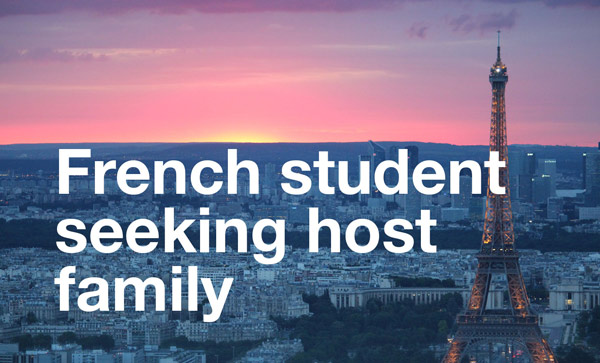 Image for French Student Seeking Host Family