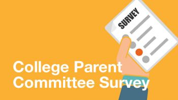 Image for College Parent Committee Survey